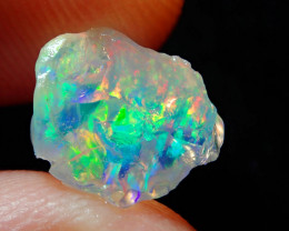 2.88ct Natural Opal Rough Mexican Fire Opal