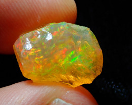 5.85ct Natural Opal Rough Mexican Fire Opal