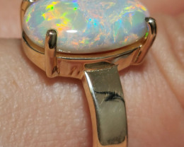 EXQUISITE OPAL RING 14K GOLD