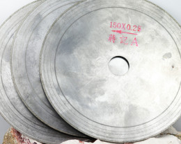 Three 150 mm or 6 inch 0.25 saw Blades WS 1837
