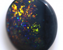 0.56 CTS BLACK OPAL STONE-FROM  LIGHTNING RIDGE - [LRO981]
