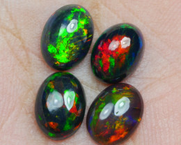 2.45 CRT 4PCS SMOKED BEAUTY PLAY COLOR WELO OPAL*