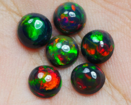 2.75 CRT 6 PCS SMOKED BEAUTY PLAY COLOR WELO OPAL*