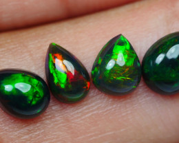 1.50 CRT 4PCS SMOKED BEAUTY PLAY COLOR WELO OPAL*