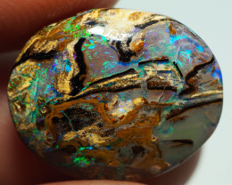 7.80CT WOOD REPLACEMENT BOULDER OPAL ST189