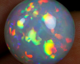 AAA 9.10cts Rainbow Floral Patchwork Natural Ethiopian Welo Opal
