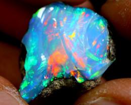 15cts Ethiopian Welo Rough Opal / WR1121