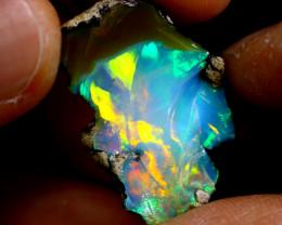 11cts Ethiopian Welo Rough Opal / WR1128