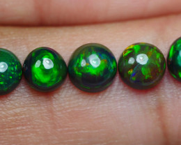 2.35 CRT 5 PCS SMOKED (CRACK) BEAUTY PLAY COLOR WELO OPAL*