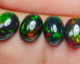 2.80 CRT 4 PCS SMOKED BEAUTY PLAY COLOR WELO OPAL*