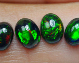 2.00 CRT 4PCS SMOKED BEAUTY PLAY COLOR WELO OPAL*