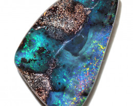 17.00 cts Dark based  Quilpie Boulder opal MMR 2356