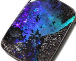 24.00 cts Dark based  Quilpie Boulder opal MMR 2359