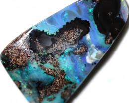 30.00 cts Dark based  Quilpie Boulder opal MMR 2363