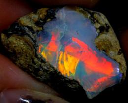 17cts Ethiopian Welo Rough Opal / WR1212