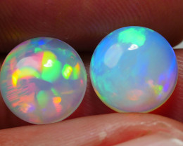 5.00 CRT 2 PCS BROAD FLASH WELO CHAFF PATTERN PLAY COLOR WELO OPAL