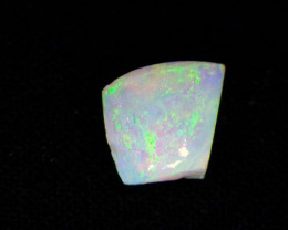 1.11 ct Natural N9 Rough Green fire flash lightning ridge Australian opal