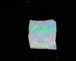 0.59 ct Natural N9 Rough Multi fire flash lightning ridge Australian opal