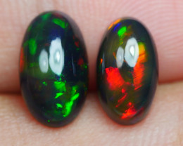 2.95 CRT 2PCS SMOKED BEAUTY PLAY COLOR WELO OPAL*