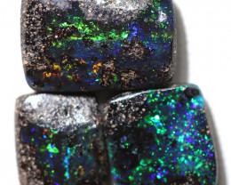 11.60 cts Dark based  Quilpie Boulder opal parcel MMR 2379