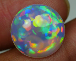 5.45 CRT AMAZING ROUND CHAFF PUZZLE PATTERN BEAUTY COLOR WELO OPAL-