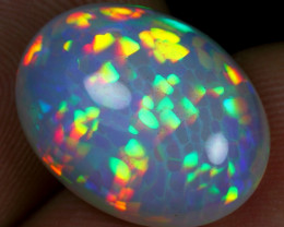 AAA 6.55cts High Density Cell Honeycomb Natural Ethiopian Welo Opal