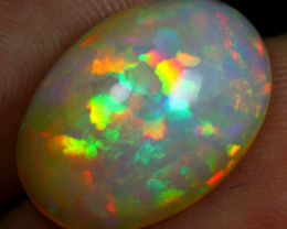 8.40cts Sparkle Neon Fire Natural Ethiopian Welo Opal