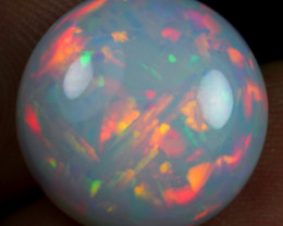 9.35cts Chaff and Cell Pattern Natural Ethiopian Welo Opal