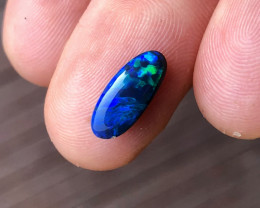 1.5 carat Lightning Ridge black opal