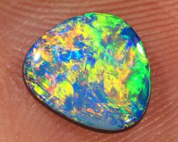 1ct 8x7mm Quality Lightning Ridge Opal Doublet [PDO-258]