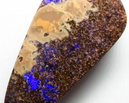 57.55ct Queensland Boulder Opal  Drilled Stone