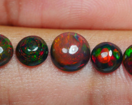 1.90 CRT 5PCS SMOKED BEAUTY PLAY COLOR WELO OPAL*