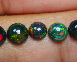 2.20 CRT 5PCS SMOKED BEAUTY PLAY COLOR WELO OPAL*