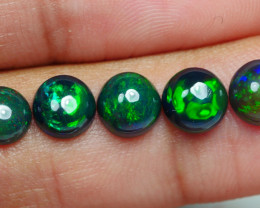 3.50 CRT 5PCS SMOKED BEAUTY PLAY COLOR WELO OPAL*