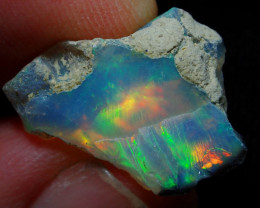 6.6ct A4 Gamble Quality Rough Ethiopian Wello Opal