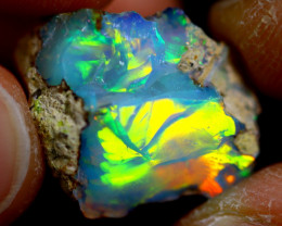 13cts Ethiopian Welo Rough Opal / WR1315