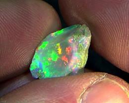 5.45 cts Ethiopian Welo CHAFF CIRRUS rough brilliant opal N6 5/5