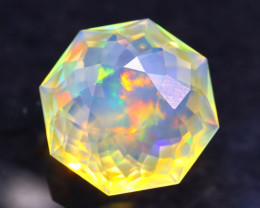 5.30Ct Master Cutting Natural Ethiopian Faceted Welo Opal H47
