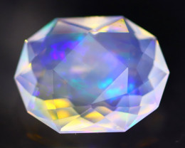 3.00Ct Master Cutting Natural Ethiopian Faceted Welo Opal H59