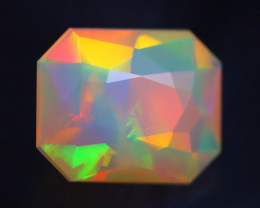 1.33Ct Master Cutting Natural Ethiopian Faceted Welo Opal H60