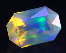 1.68Ct Master Cutting Natural Ethiopian Faceted Welo Opal H63