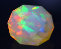 1.71Ct Master Cutting Natural Ethiopian Faceted Welo Opal H64
