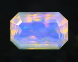 0.94Ct Designer Cutting Lightning Ridge Faceted Crystal Opal H67