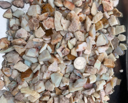 Parcel of Natural Australian Coober Pedy Potch and Colour Rough Opal 3110.3
