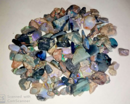 320 cts Mixed parcel of Lightnig ridge raugh opals