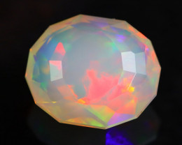 2.14Ct Master Cutting Natural Ethiopian Faceted Welo Opal H38