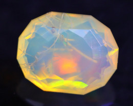 1.69Ct Master Cutting Natural Ethiopian Faceted Welo Opal H40