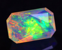 1.47Ct Master Cutting Natural Ethiopian Faceted Welo Opal H42