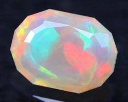 2.05Ct Master Cutting Natural Ethiopian Faceted Welo Opal H25