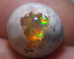 10.3ct Mexican Matrix Cantera Multicoloured Fire Opal